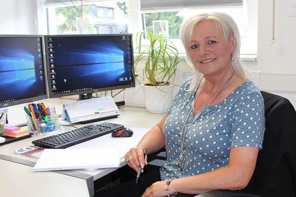 Ulrike Schütz – Vertriebsinnendienst und Kundenbetreuung