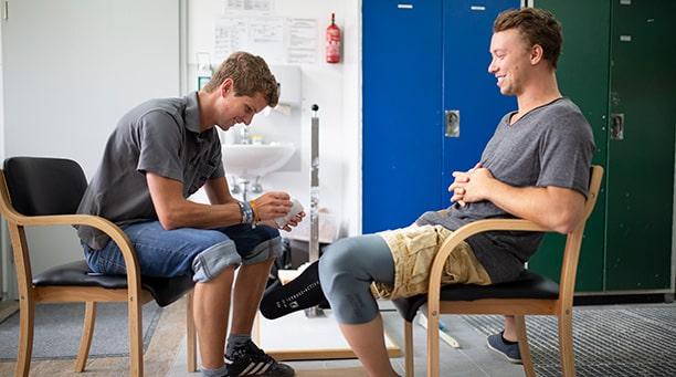 Peter Ferger - Kundenbetreuung Beinprothese