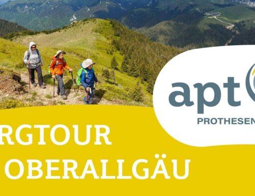 Bergtour im Oberallgäu für Prothesenträger