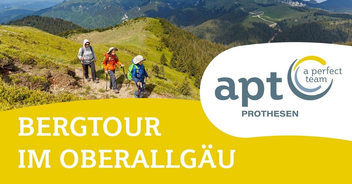 Bergtour im Oberallgäu mit APT Prothesen