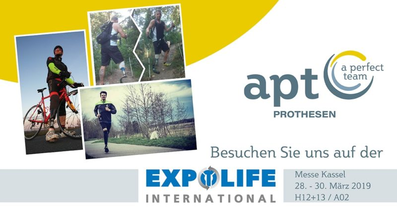 APT Prothesen auf der EXPOLIFE 2019 in Kassel