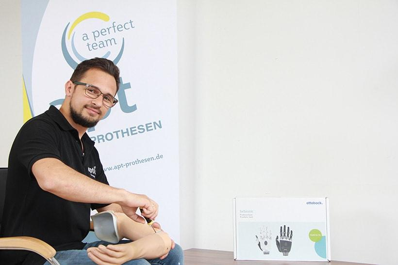 Edward Hermann - Orthopädietechniker-Meister bei APT Ostwestfalen