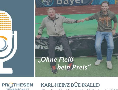 """Prothesen Talk mit Karl-Heinz """"Kalle"""" Düe"""