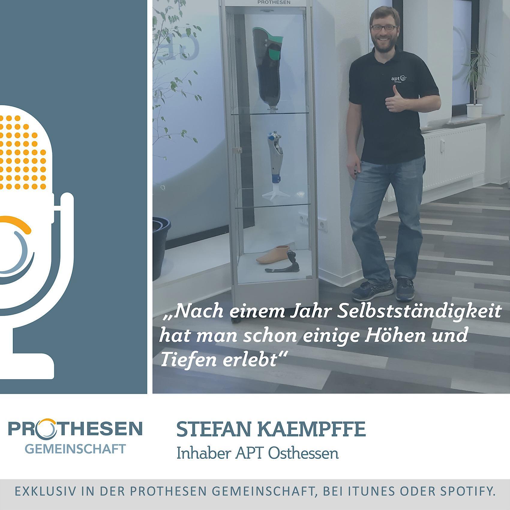 Prothesen Talk mit Stefan Kaempffe