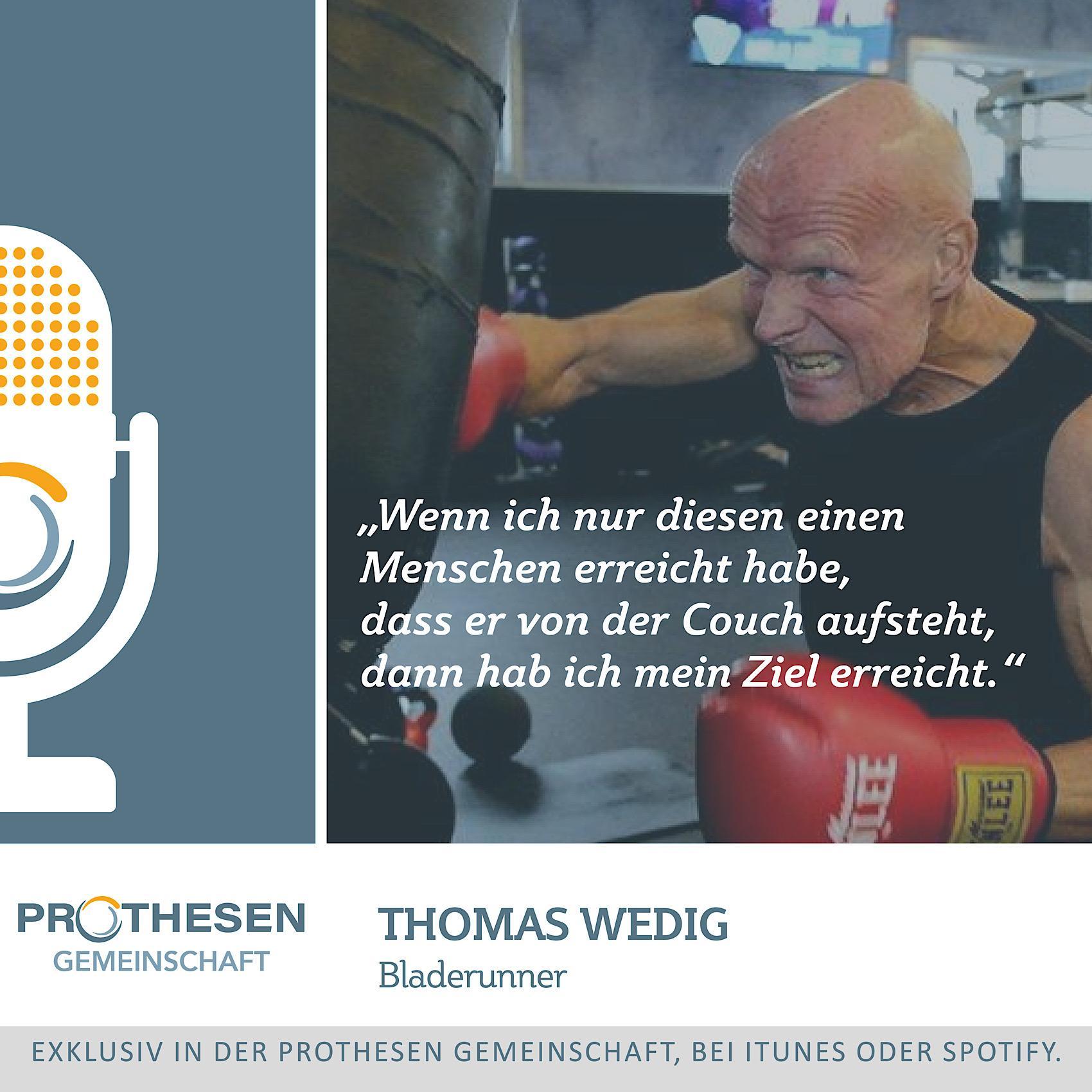 Prothesen Talk mit Thomas Wedig
