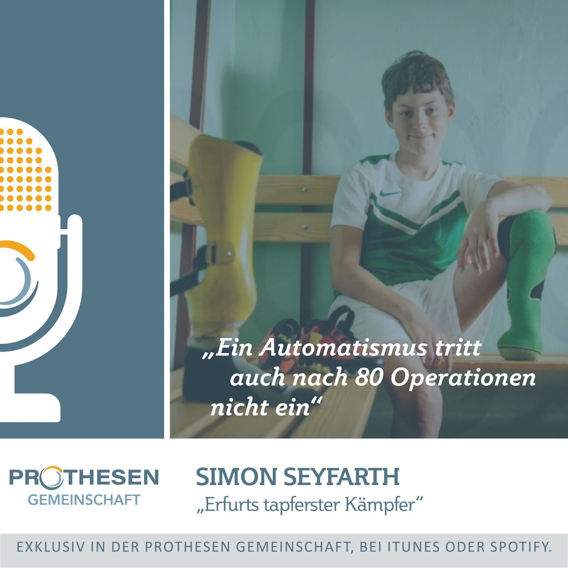 """Prothesen Talk mit """"Erfurts tapferstem Kämpfer"""" Simon Seyfarth"""