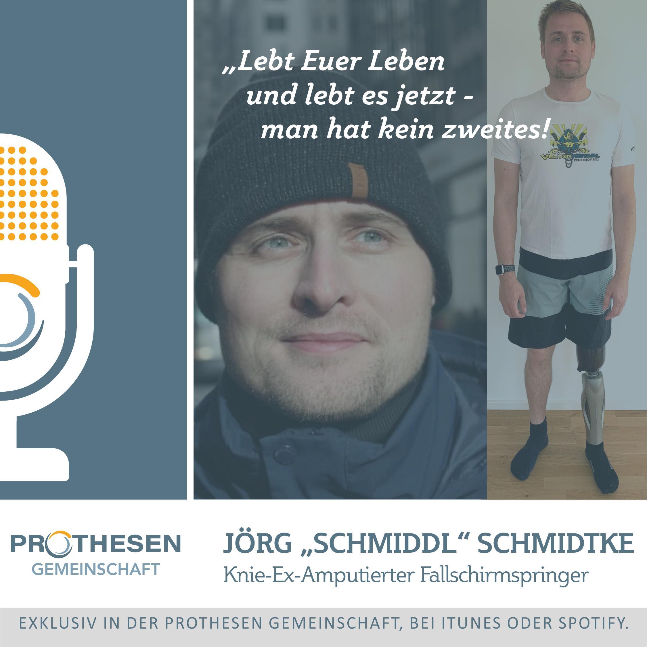 """Prothesen Talk mit Jörg """"Schmiddl"""" Schmidtke"""