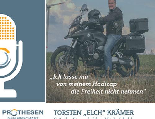 """Prothesen Talk mit Torsten """"Elch"""" Krämer"""