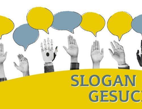 Slogan gesucht – Mitmachen und gewinnen!