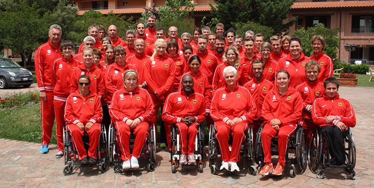 Paralympics Team 2016 - Abreise nach Rio de Janeiro