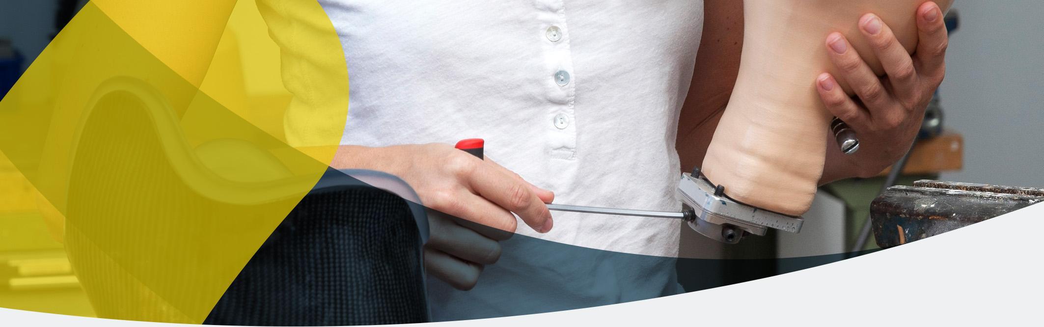 APT Prothesen arbeitet eng zusammen mit Herstellern & der Industrie