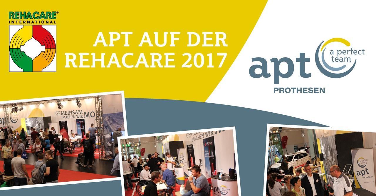APT Prothesen auf der REHACARE 2017
