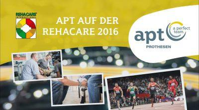 APT Prothesen auf der Rehacare 2016