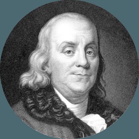 Benjamin Franklin amerikanischer Politiker