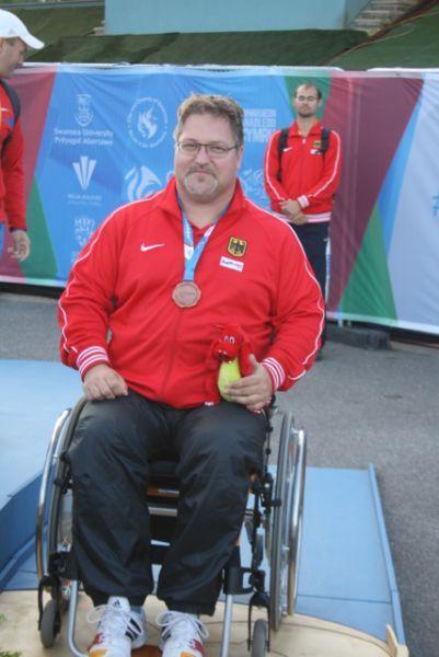 Daniel Scheil- Erfolgreichster deutscher Athlet