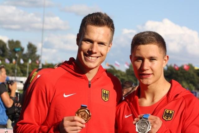 Markus Rehm und Felix Streng