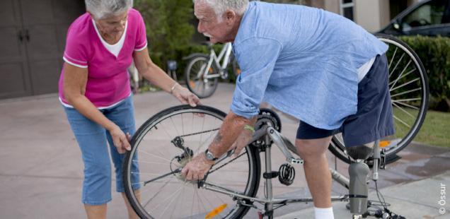 Mobilitätsgrad 3 - Uneingeschränkter Außenbereichsgeher