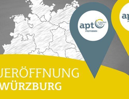 """Einladung zur Eröffnungsveranstaltung """"APT in Würzburg"""""""